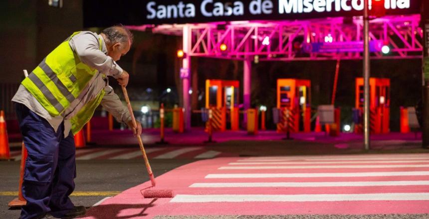 IMG[Killing doa tintas para ação de Outubro Rosa da Santa Casa da Misericórdia de Porto Alegre/RS]