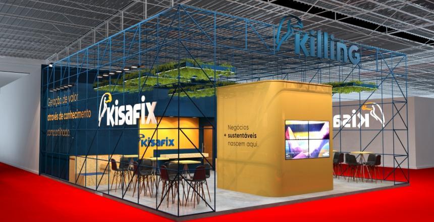 IMG[Kisafix leva experiência sensorial disruptiva para Fimec 2020]